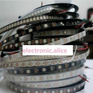WS2812B 5050 RGB LED Strip 1-5M 150 300 Leds 144 30LED Individual Addressable 5V