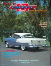 1984 Classic Chevy World Magazine: Steve & Melanie Benders 1955 Hardtop/Steering