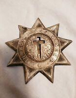 Antique Masonic Knights Templar In Hoc Signo Vinces