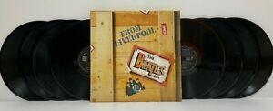THE BEATLES - BEATLES BOX 8LP 1980 Japan Press Vinyl BOX SET w/ inserts