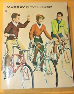 1967 MURRAY Bicycles Bicycle Sales Catalog 19pgs Brochure Booklet Very Nice