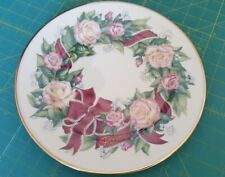 "Lenox 1996 Sentiments Of Roses Collection Peace 10 3/4"" Dinner Plate"