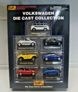 Maisto Volkswagen 7 Pack Die Cast Collection NEW
