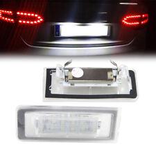 für Audi Roadster TT 8N LED Leuchte Nummernschild Kennzeichenbeleuchtung 2 Stück