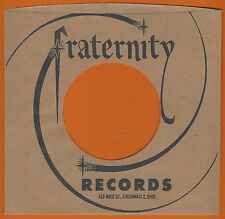 FRATERNITY REPRODUCTION RECORD COMPANY SLEEVES - (pack of 10)