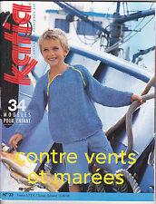 Catalogue de tricot KATIA n°33 ENFANTS Printemps - été