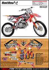 2009-2012 HONDA CRF 450 Bad Boy Motocross Graphics Dirt Bike Graphics Decal Deco