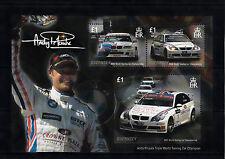 Guernsey 2008 MNH Andy Priaulx Tripe World Touring Car Champion 3v M/S Racing