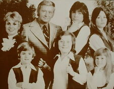 "The Partridge Family Poster Print - 1970s - Cast Photo - 11""x14"" Sepia"