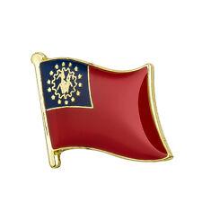 Myanmar / Burma Flag Lapel Pin 19 x 16mm Hat Tie Tack Badge Pin Free Shipping