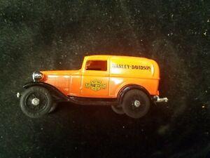 Ertl Harley Davidson 1932 Ford Panel Truck Dime Bank Die-Cast 1/43 Loose