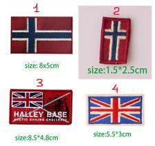 Ricamate Londra bandiera bandiera aufbügler Patch 8 x 5 cm