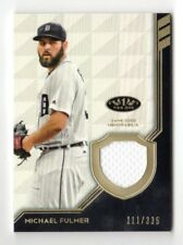 MICHAEL FULMER MLB 2018 TOPPS TIER ONE LEGEND RELICS (DETROIT TIGERS) #/335