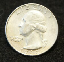 1964 Washington SILVER Quarter in UNC Condition Extremely Nice!