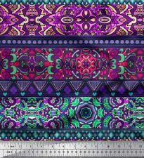 Soimoi Fabric Stripe,Mosaic & Mandala Kaleidoscope Print Fabric bty - KS-2A