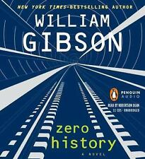 Zero History by William Gibson (2010, CD, Unabridged) perfect condition