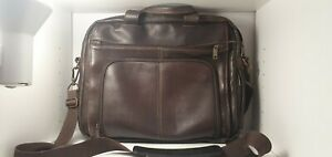 American Wilson Leather Miami Rugged Briefcase - Preowned - $600 New