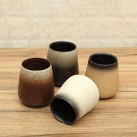 Japanese Style Ceramic Mug Coarse Art Pottery Coffee Cup Handmade Mug Tea Cup