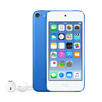 Apple Ipod Touch 6th Generation  16Gb Blue Portable Media Player Audio Player
