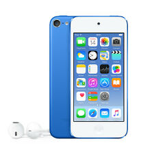 Apple iPod touch 6th Generation Blue 32GB with Apple EarPods New and Sealed