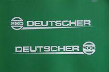 Deutscher 280 Vintage Mower Repro Decals