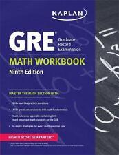 GRE Math Workbook (Kaplan Test Prep) Ninth  Edition by Kaplan (Paperback)