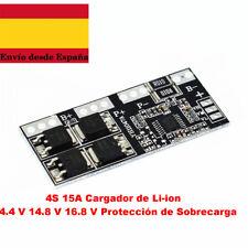 4S 15A Cargador de Li-ion 14.4 V 14.8 V 16.8 V Protección de Sobrecarga
