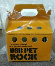 USB Pet Rock New in Original Box with Instructions by ThinkGeek