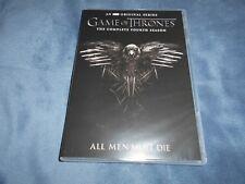 Game of Thrones Fourth Season 4 (DVD, 2015, 5 Disc Set)