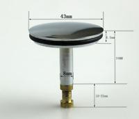 Badewannenstöpsel Abflussstöpsel Stopfen Ventil Badewannen  Pop Up Abfluss HOT!!