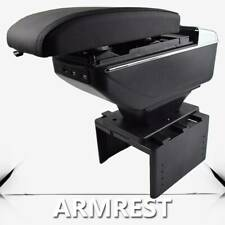 For Universal Central Console USB Compartment Armrest Storage Box Heightening