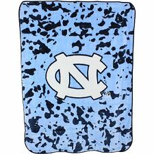 UNC Tar Heels College Covers 63 x 86 Soft Raschel Plush Throw Blanket