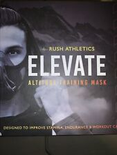 New listing Rush Athletics Elevate Training Camo Mask For Cardiovascular Health & Fitness