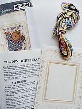 Design Works Crafts - Cross Stitch Greetings - Happy Birthday - Cross Stitch Kit