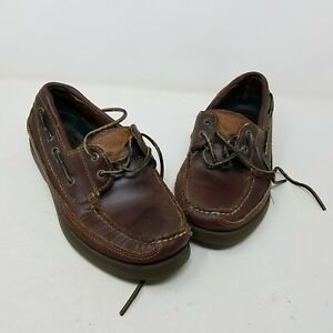 Sperry Top Sider Mako Collection Leather Boat Loafer Deck Shoes Men's Size 7.5 M