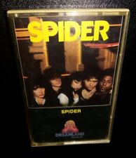 Spider, 1980 self titled CASSETTE (PLAY TESTED) Dreamland Records GOOD / VG