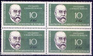 Robert Koch, Nobel Medicine, Germany 1960 MNH Blk 4