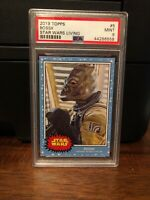 2019 Topps Star Wars Living Set Bossk #5 PSA 9 Mint