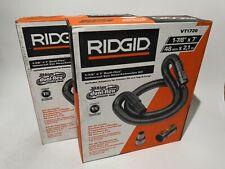 "Lot of 2 RIDGID 1-7/8"" x 7' Universal Vacuum Hose Extension Kit Shop Vac VT1720"