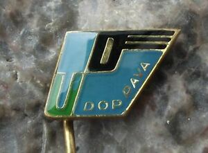 Vintage Uranium Mines Transport Czechoslovakia Mining Nuclear Power Pin Badge