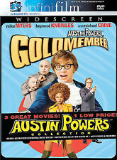 Austin Powers Collection (DVD, 2002, 3-Disc Set)