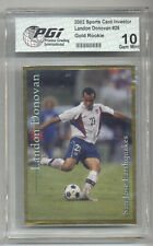 2002 Landon Donovan PGI 10 SCI USA Gold Rookie 1st Card Ever