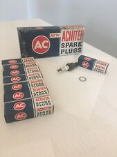 VINTAGE AC ACNITER SPARK PLUGS  CASE 8 R44NS #5613339 NEW DODGE 77 360 318 340+