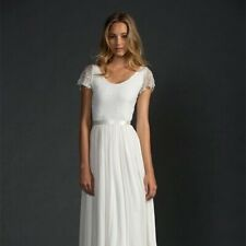 New Grace Loves Lace Clare Small/Medium Wedding Dress A-Line Boho Simple