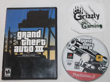 USED Grand Theft Auto Double Pack GTA3 Only Sony PS2 (NTSC) -Canadian Seller-