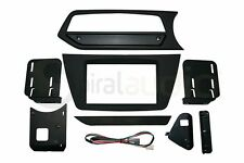MERCEDES BENZ C-Class 2012-2014 Radio Dash Kit Standard RUBBERIZED BLACK