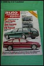 AMS Auto Motor Sport 24/87 * Porsche 944 Turbo S BMW Alpina B3 Honda Civic CRX