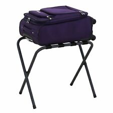 Heavy Duty Metal Portable Travel Folding Luggage Suitcase Rack Stand for Home