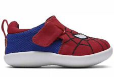 Tom's Kids' Sneaker First Walker Shoe Red Spiderman Marvel Face Print New Whiley