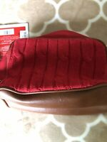 NWT Tommy Hilfiger Men Women Toiletry Cosmetic Bag Red Bag Only